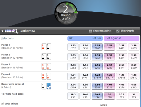 Betfair - Flex 3