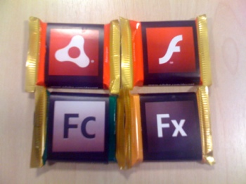 Adobe Chocolates @ FOTB