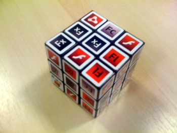 Adobe Rubik's cube @ FOTB